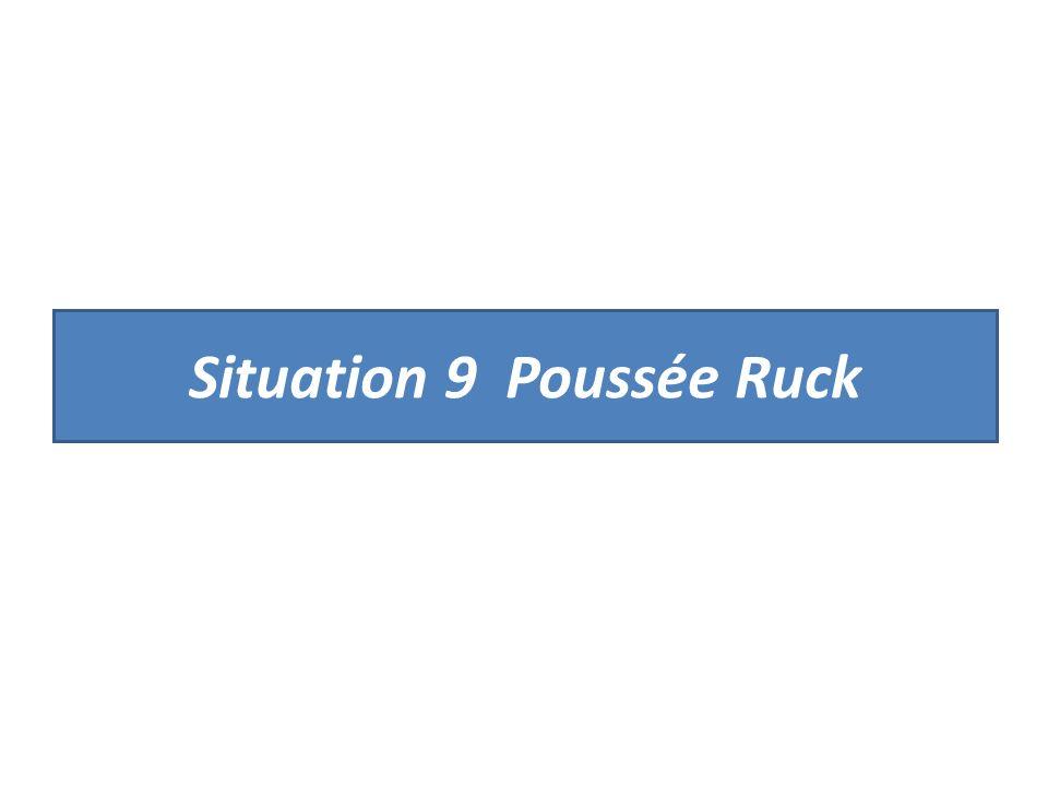 Situation 9 Poussée Ruck