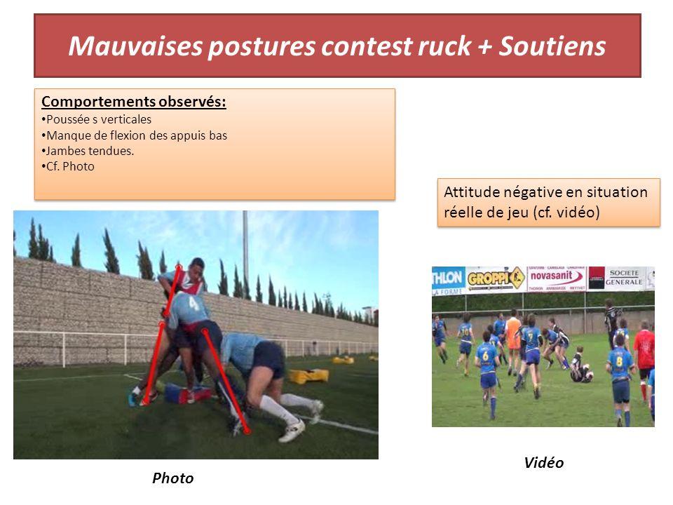 Mauvaises postures contest ruck + Soutiens