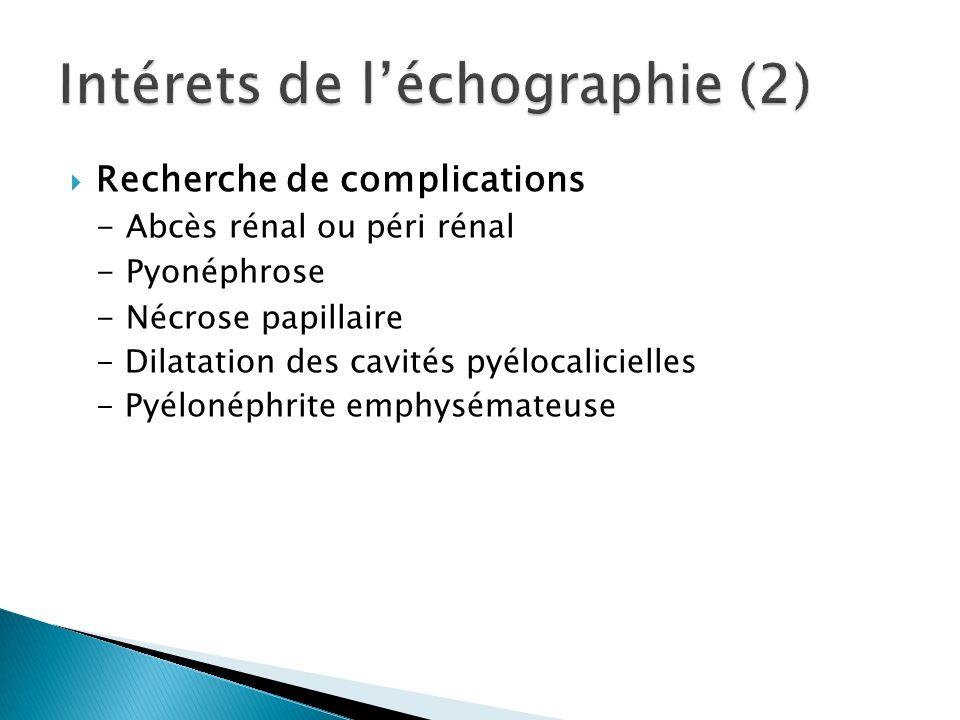 Intérets de l'échographie (2)