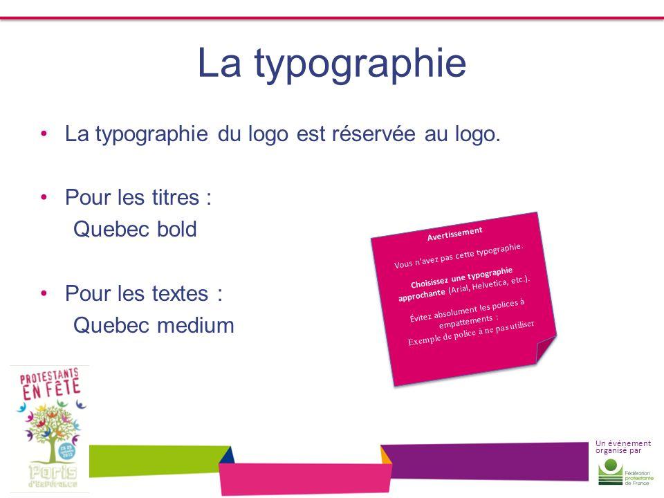 Choisissez une typographie