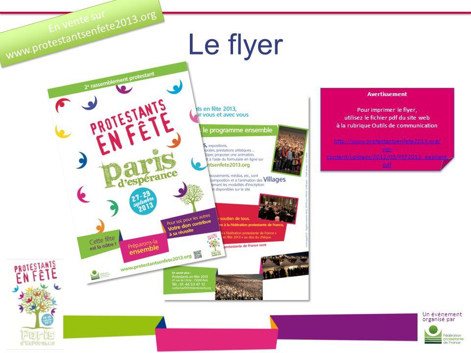 Le flyer www.protestantsenfete2013.org En vente sur Avertissement