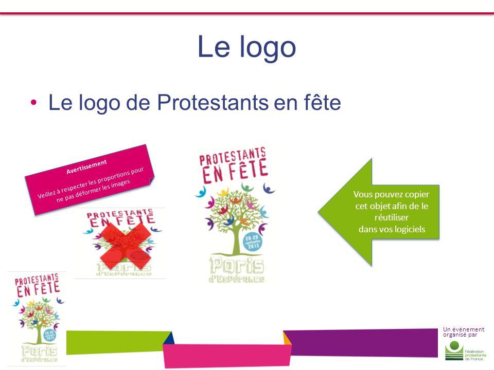 Le logo Le logo de Protestants en fête Vous pouvez copier
