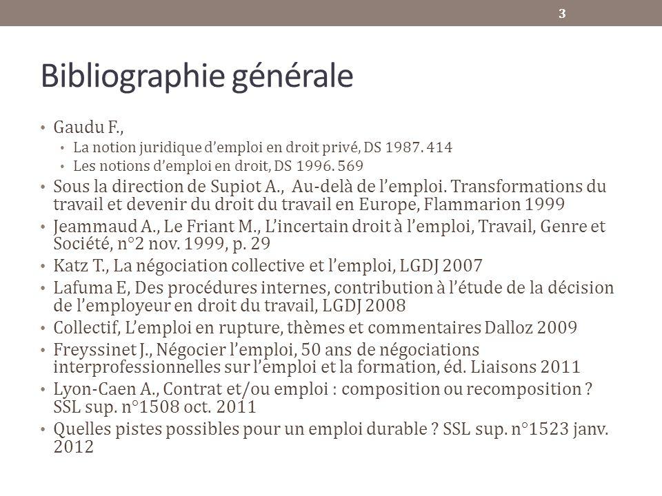 Bibliographie générale