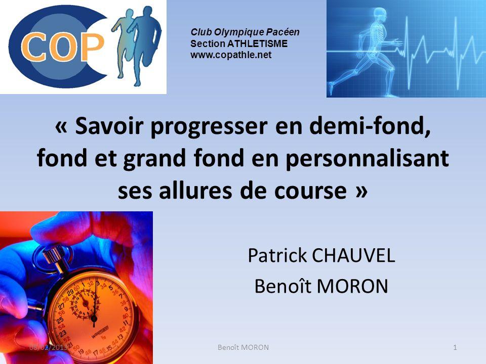 Patrick CHAUVEL Benoît MORON