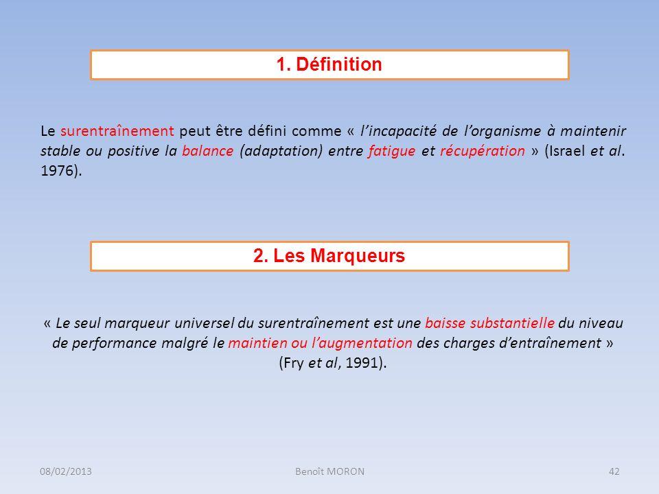 1. Définition 2. Les Marqueurs