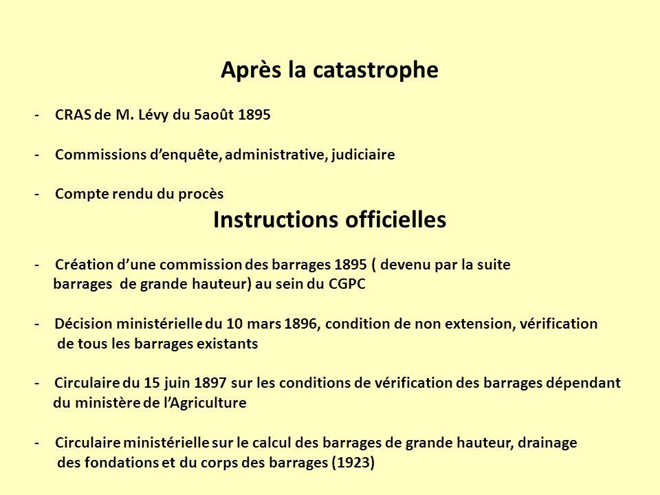 Instructions officielles
