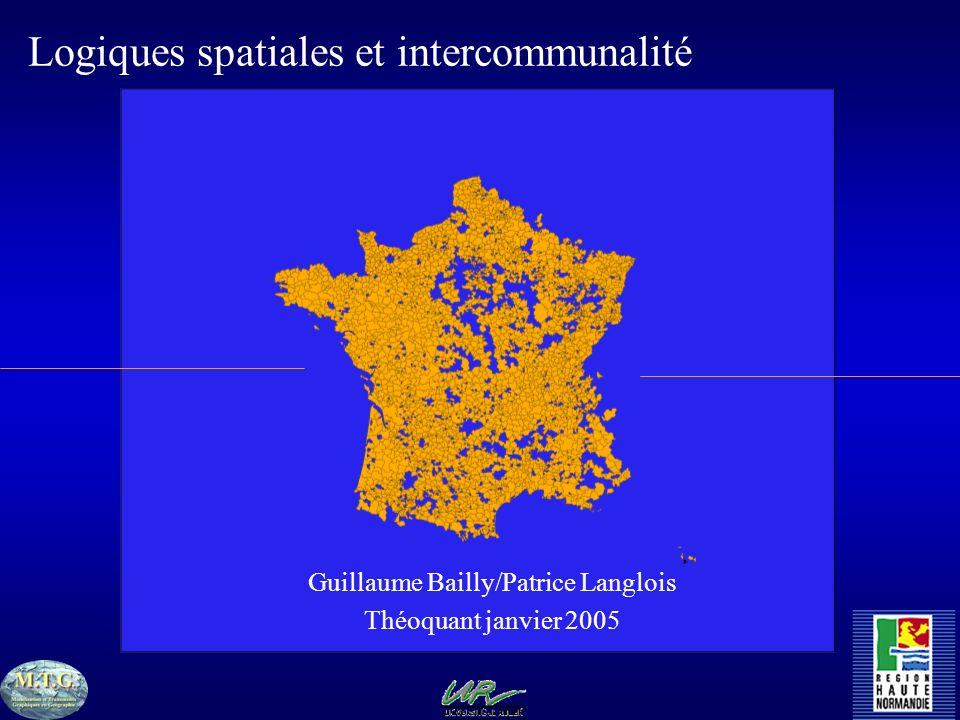 Logiques spatiales et intercommunalité