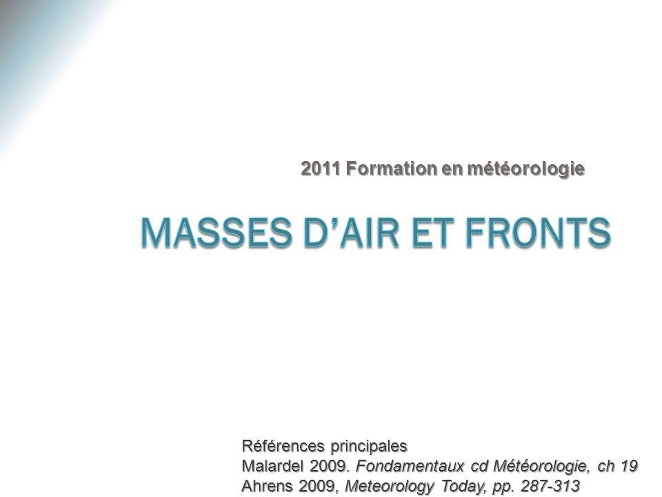 2011 Formation en météorologie