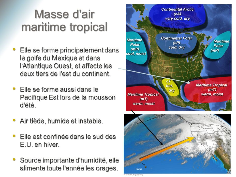 Masse d air maritime tropical