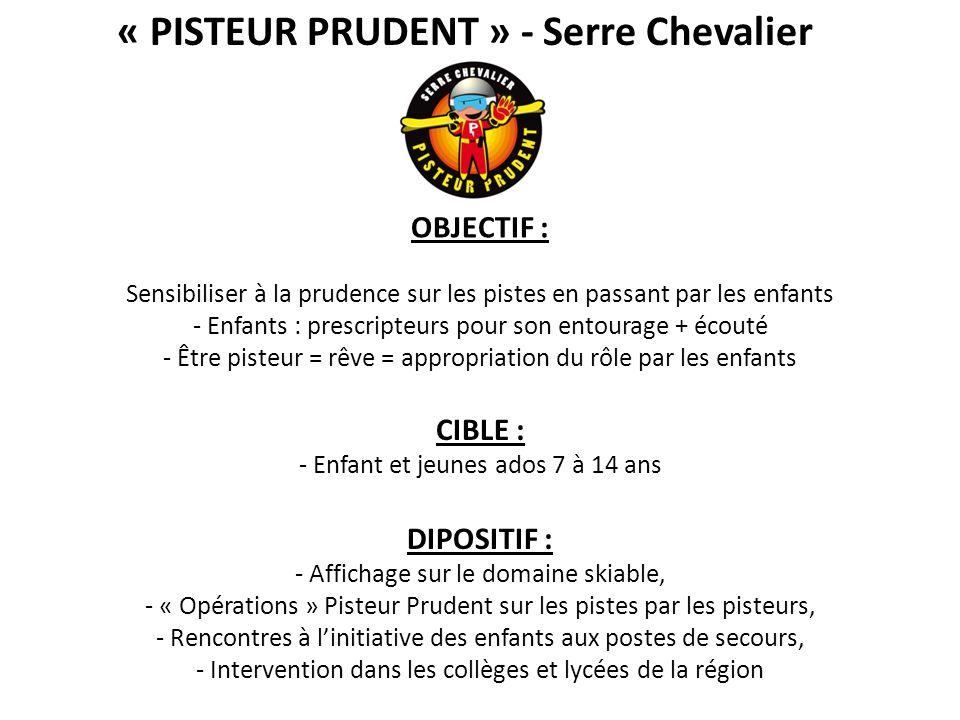 « PISTEUR PRUDENT » - Serre Chevalier