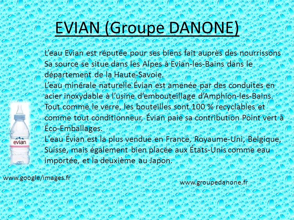 EVIAN (Groupe DANONE)
