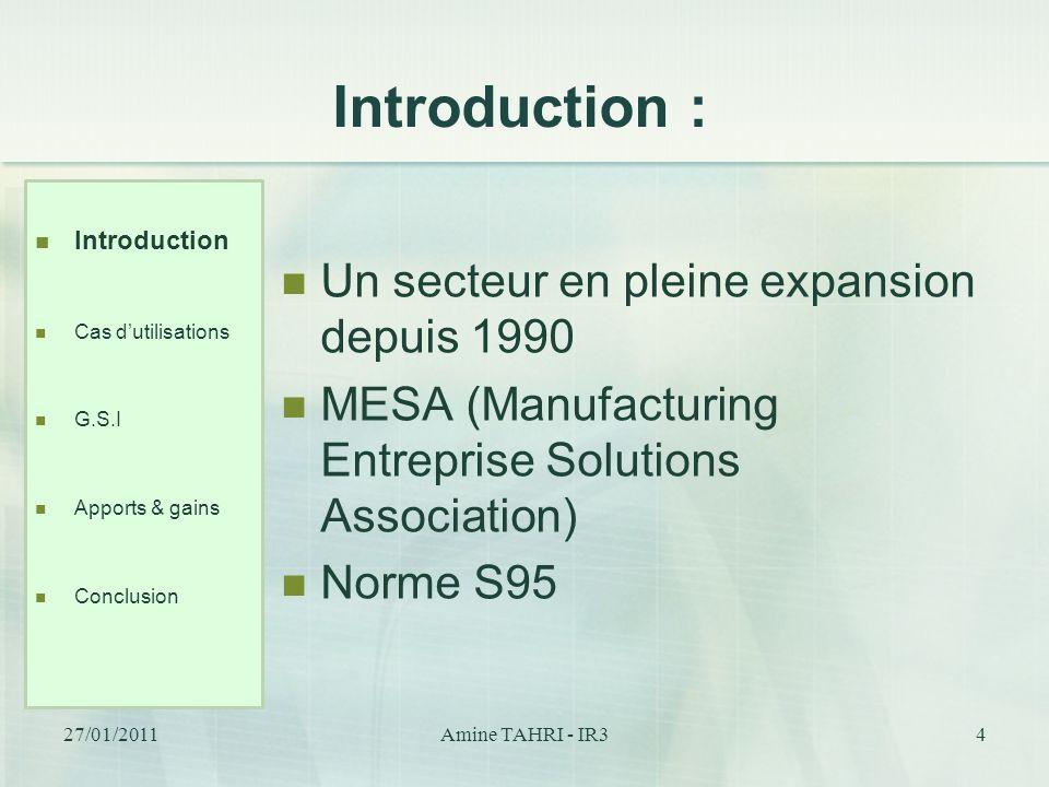 Introduction : Un secteur en pleine expansion depuis 1990