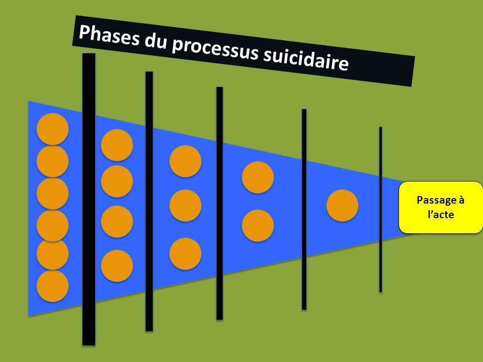 lpkp Phases du processus suicidaire Passage à l'acte