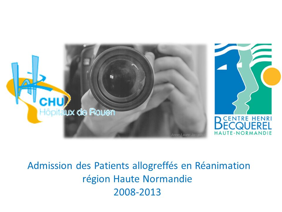 Admission des Patients allogreffés en Réanimation
