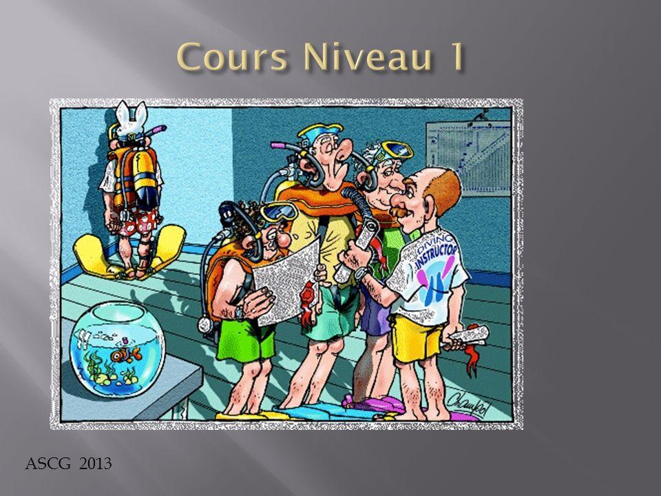 Cours Niveau 1 ASCG 2013