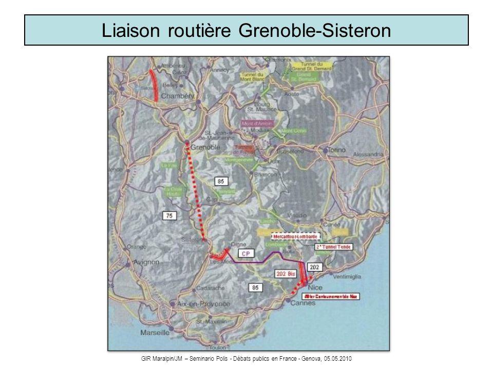 Liaison routière Grenoble-Sisteron
