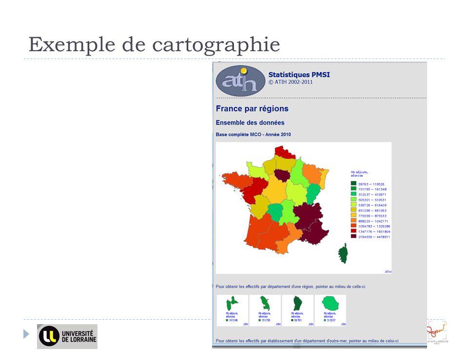 Exemple de cartographie