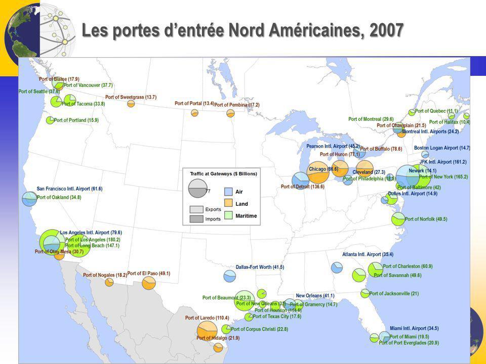 Les portes d'entrée Nord Américaines, 2007