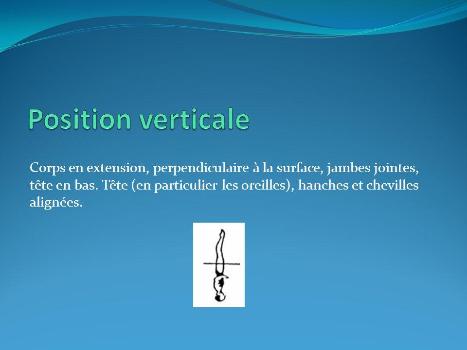 Position verticale
