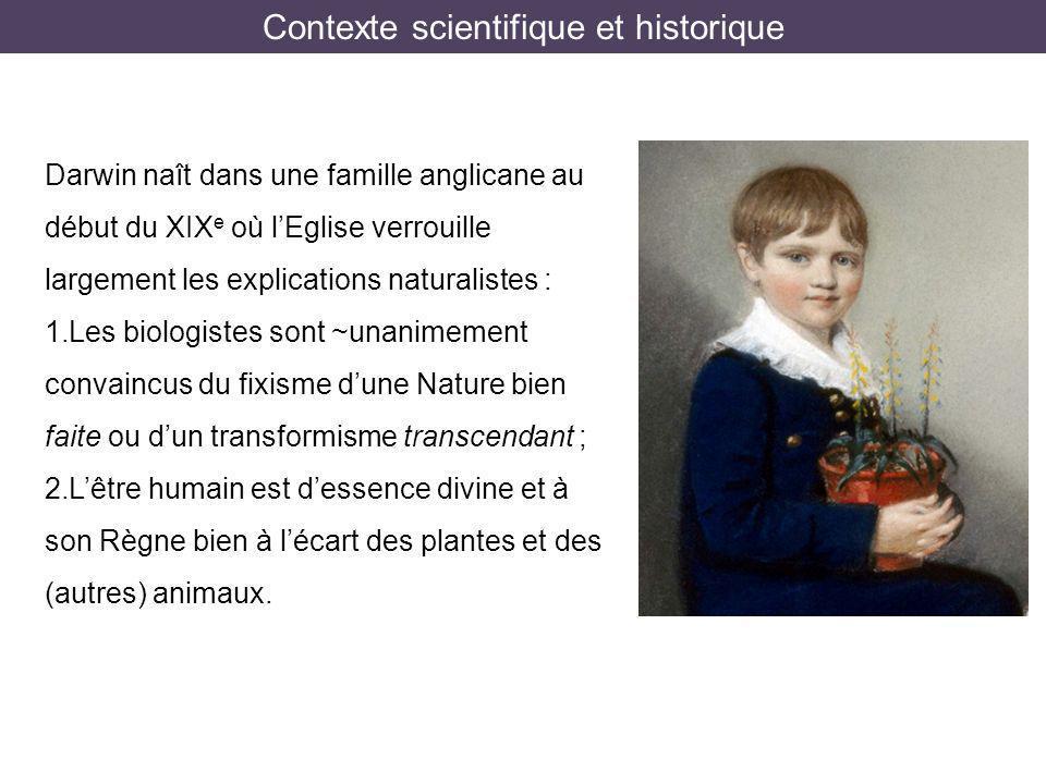 Contexte scientifique et historique