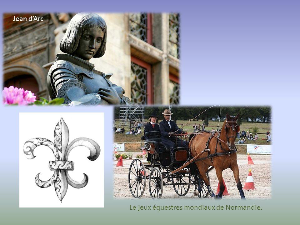 Le jeux équestres mondiaux de Normandie.