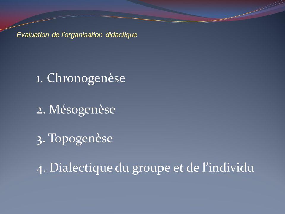 4. Dialectique du groupe et de l'individu