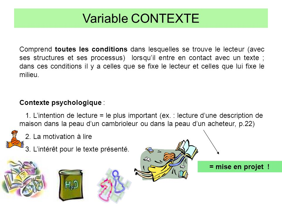 Variable CONTEXTE