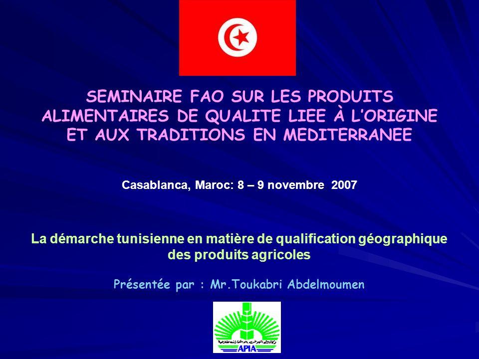 Présentée par : Mr.Toukabri Abdelmoumen