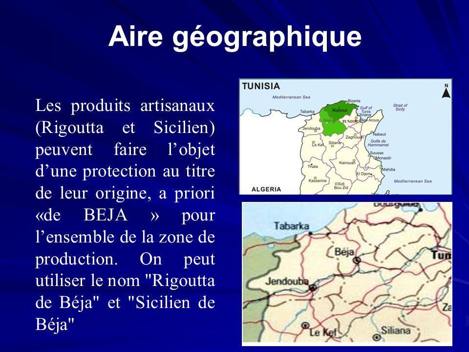Aire géographique