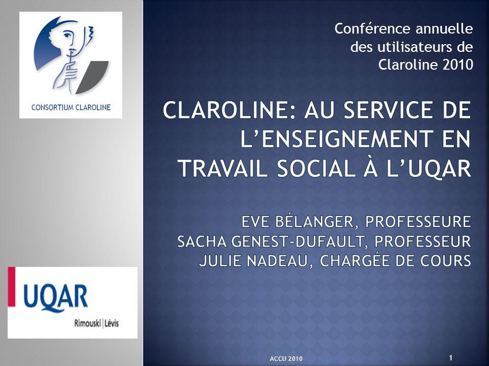 Conférence annuelle des utilisateurs de Claroline 2010