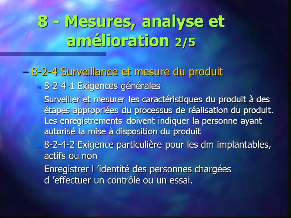 8 - Mesures, analyse et amélioration 2/5