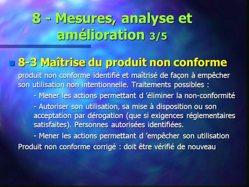 8 - Mesures, analyse et amélioration 3/5
