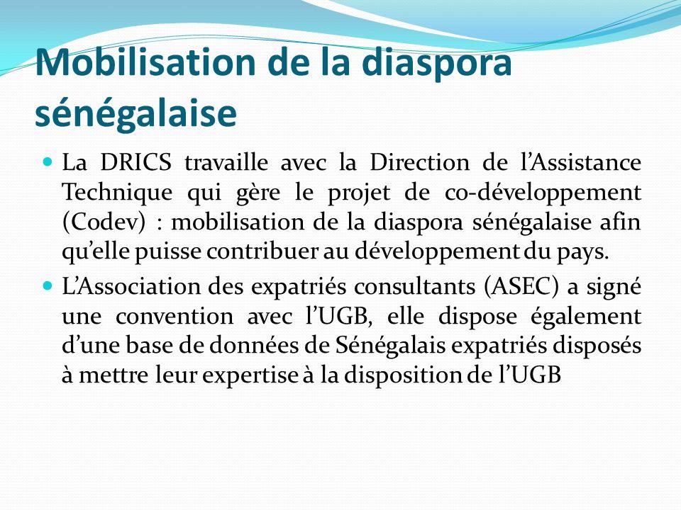 Mobilisation de la diaspora sénégalaise
