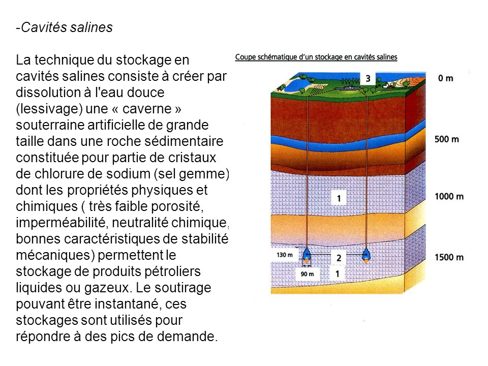 Cavités salines