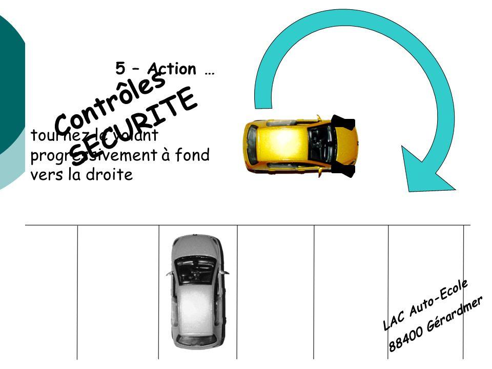 Contrôles SECURITE 5 – Action …