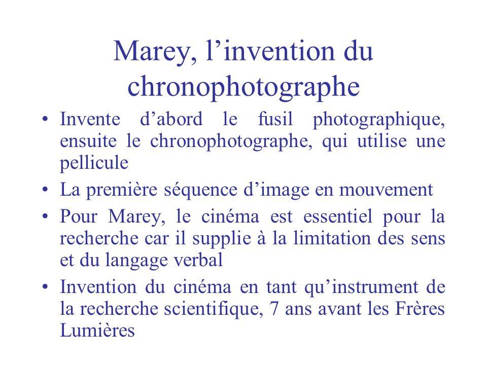Marey, l'invention du chronophotographe