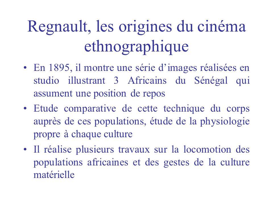 Regnault, les origines du cinéma ethnographique