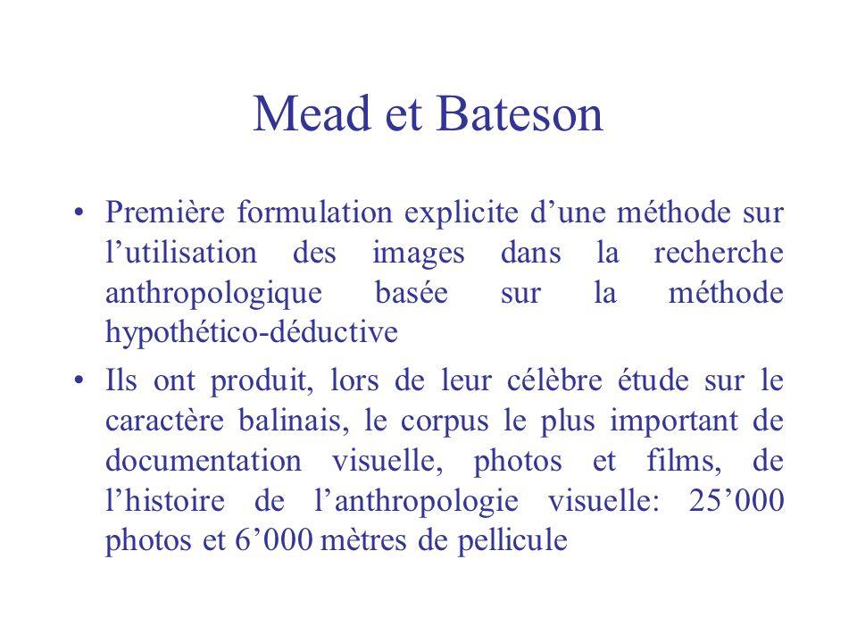 Mead et Bateson