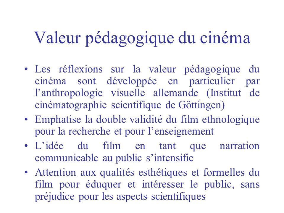 Valeur pédagogique du cinéma