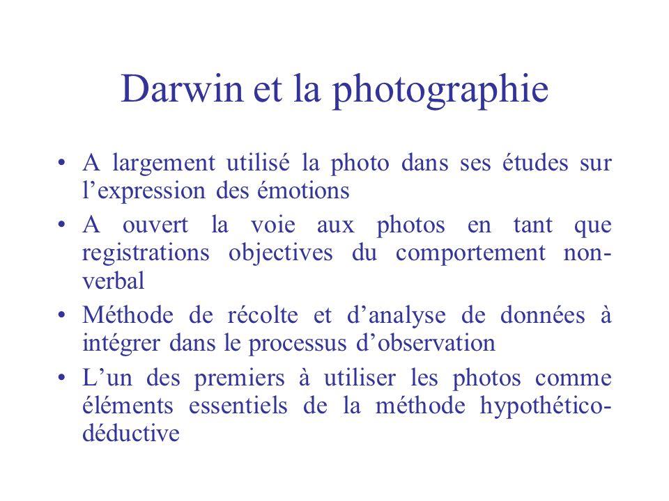 Darwin et la photographie