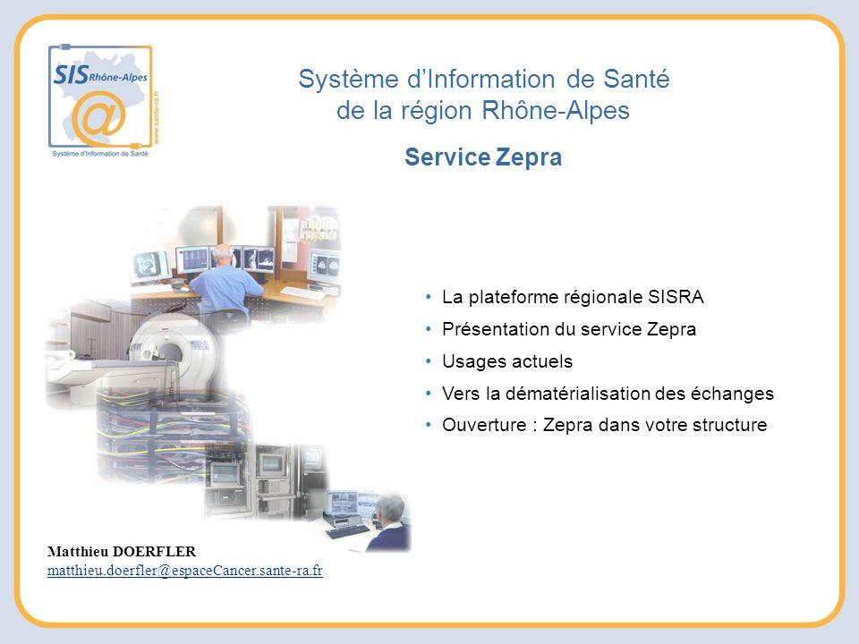 Système d'Information de Santé de la région Rhône-Alpes