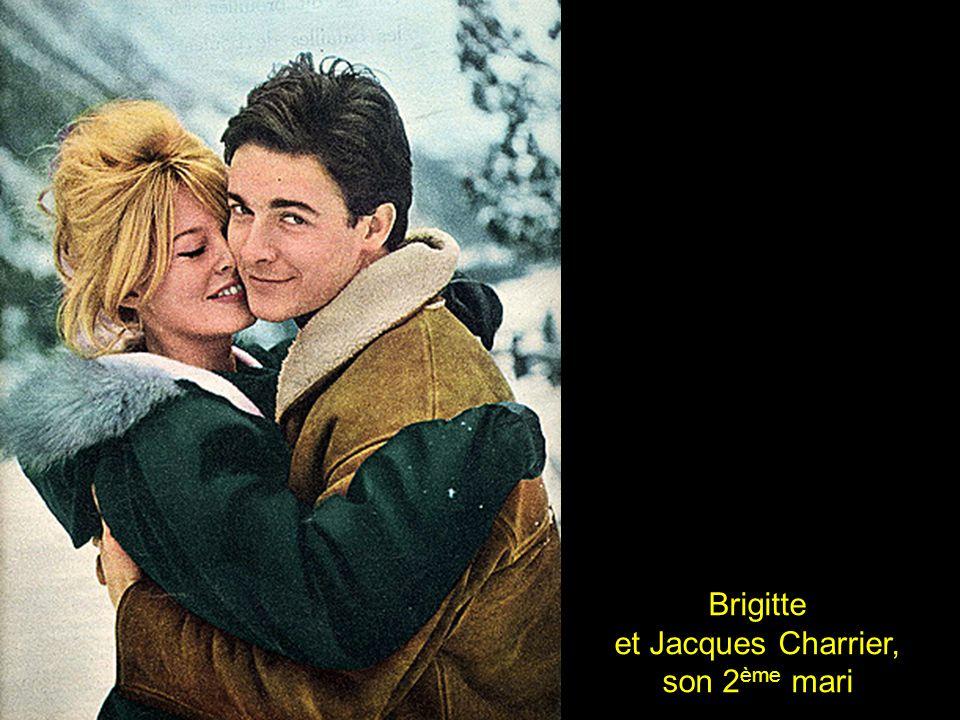 Brigitte et Jacques Charrier, son 2ème mari