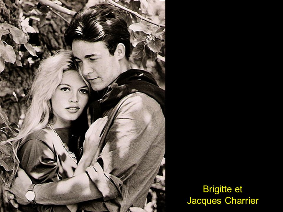 Brigitte et Jacques Charrier