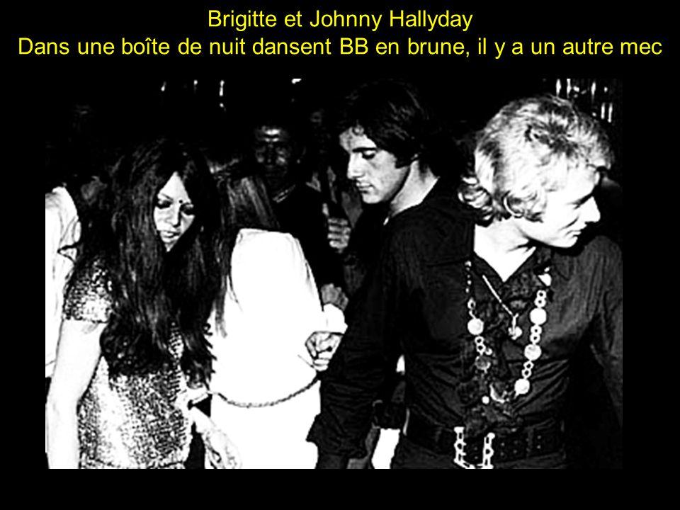 Brigitte et Johnny Hallyday