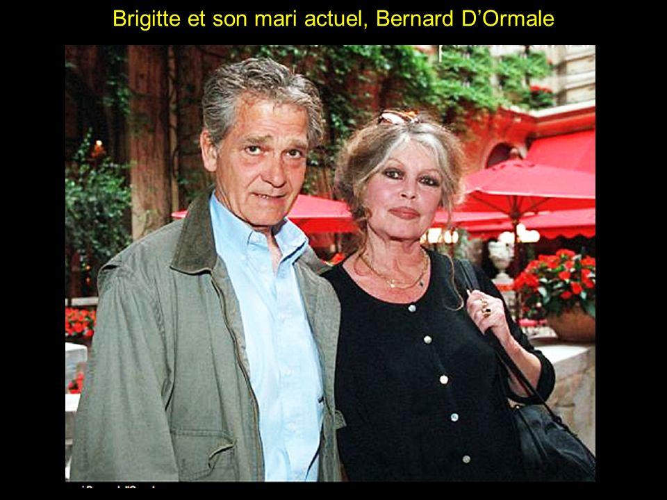 Brigitte et son mari actuel, Bernard D'Ormale