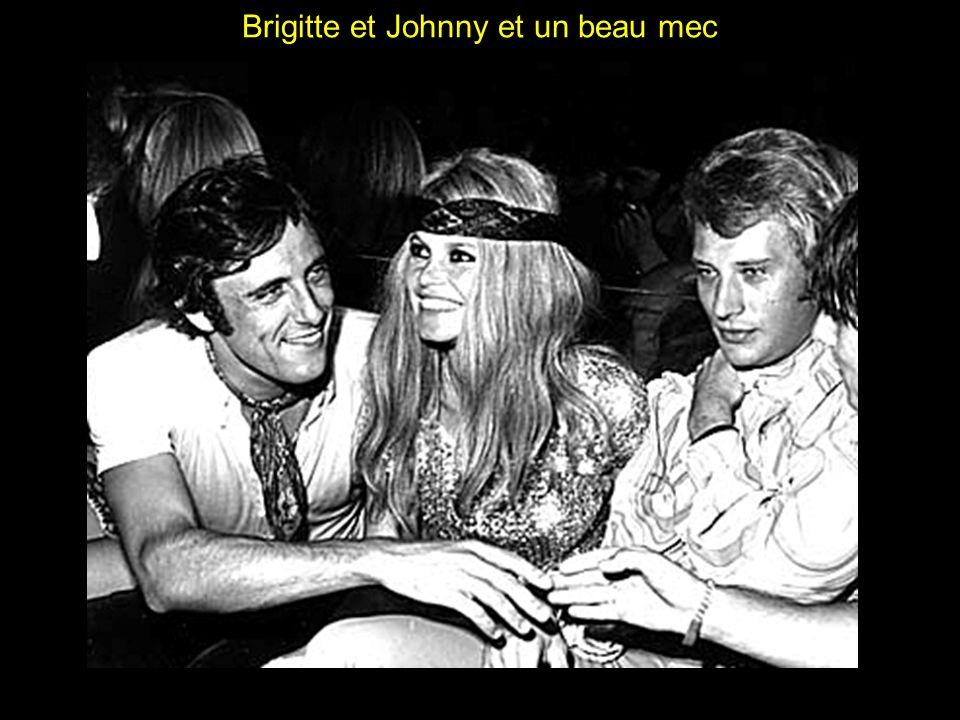 Brigitte et Johnny et un beau mec