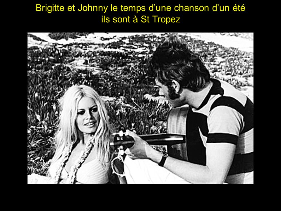 Brigitte et Johnny le temps d'une chanson d'un été