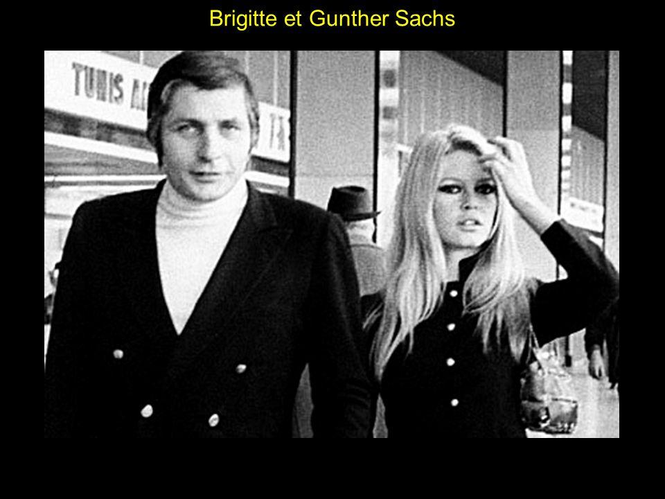 Brigitte et Gunther Sachs