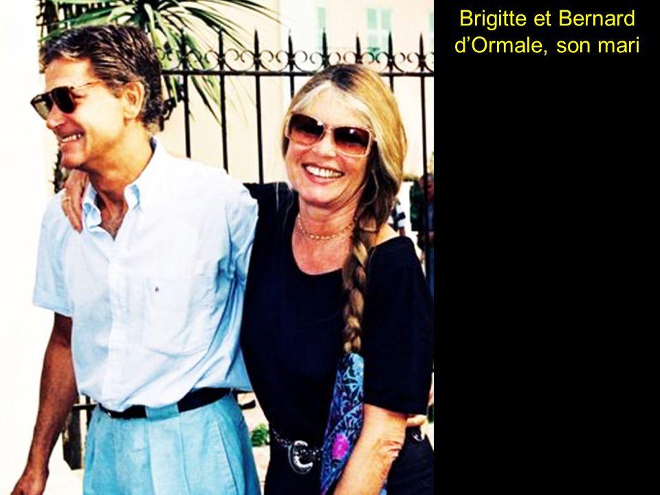 Brigitte et Bernard d'Ormale, son mari