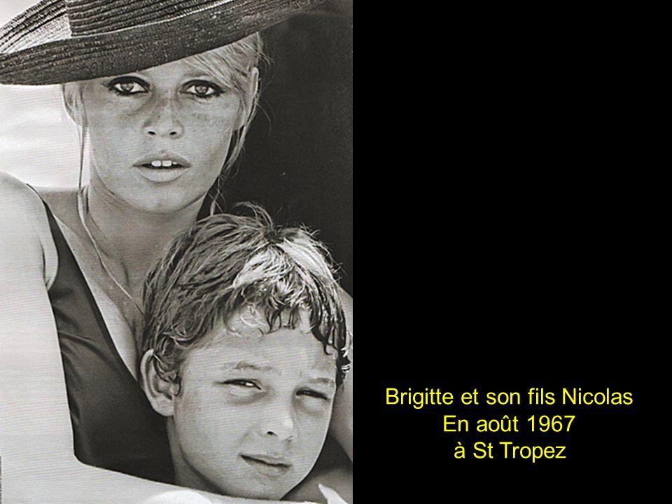 Brigitte et son fils Nicolas